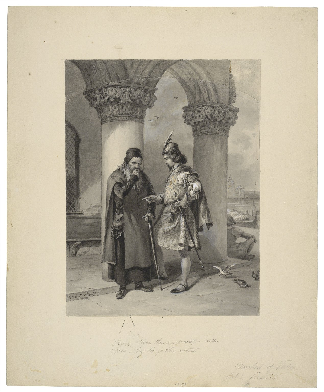 The Merchant of Venice 3.1 (Folger Shakespeare Library)